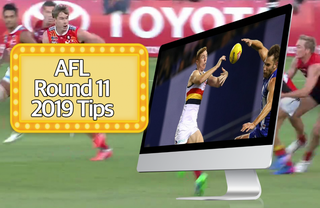 AFL round 11 tips 2019